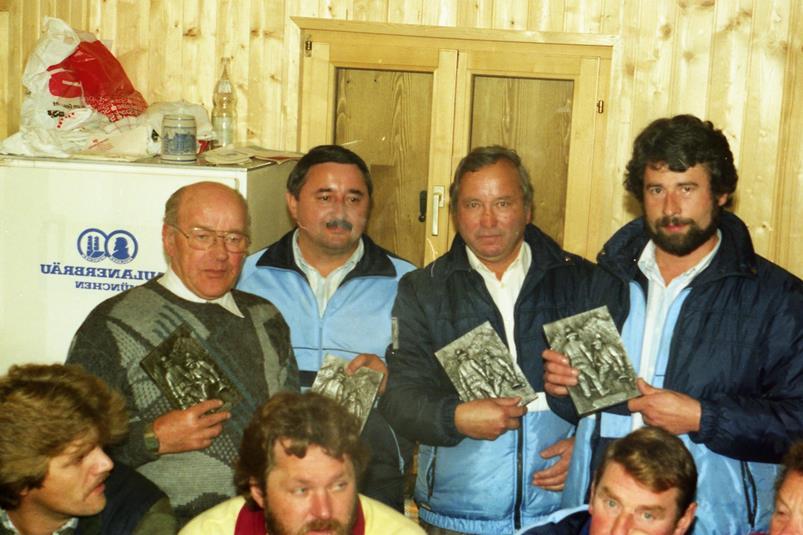 Vereinsmeister Mannschaft 1986