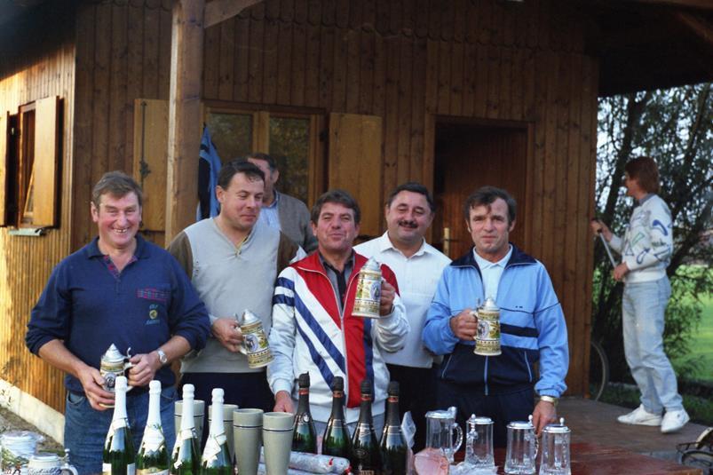 Vereinsmeister Mannschaft 1988