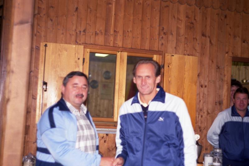 Einzelmeister im Zielschießen 1989