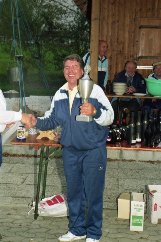 Einzelmeister im Zielschießen 1990