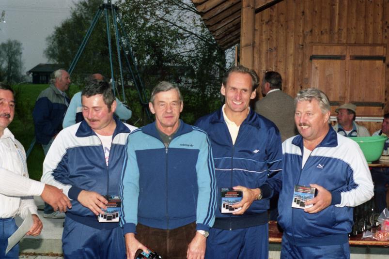 Vereinsmeister Mannschaft 1990