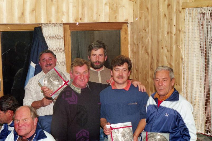 Vereinsmeister Mannschaft 1991
