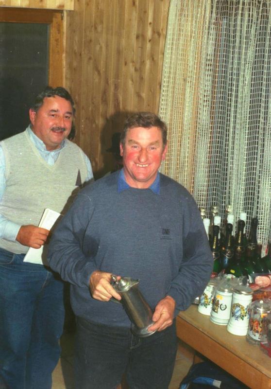 Einzelmeister im Zielschießen 1992