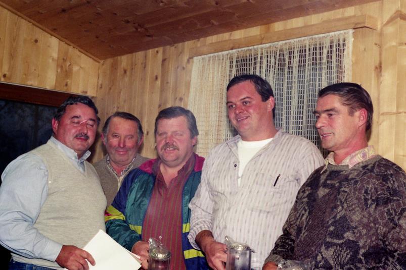 Vereinsmeister Mannschaft 1992