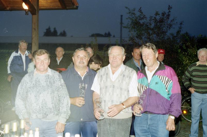 Vereinsmeister Mannschaft 1995