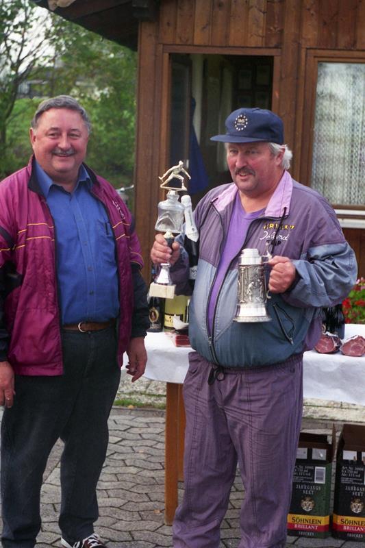Vereinsmeister im Zielschießen 1997