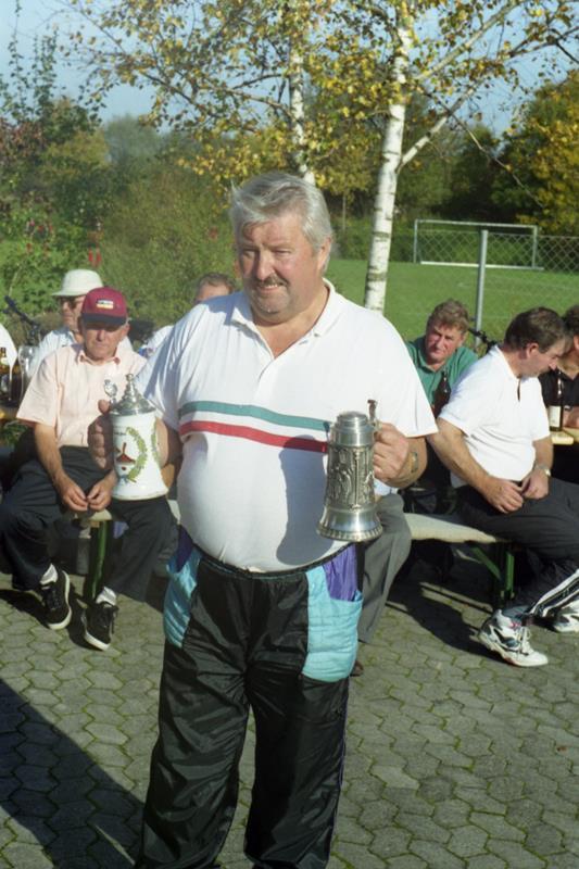 Vereinsmeister im Zielschießen 1998