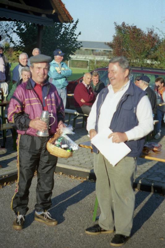 Vereinsmeister im Zielschießen 1999