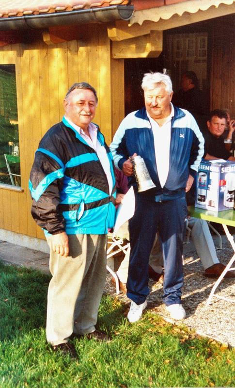 Vereinsmeister im Zielschießen 2001