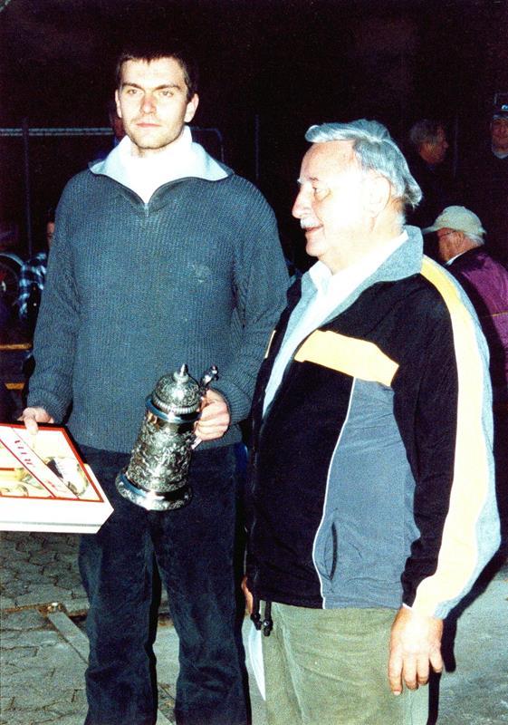 Vereinsmeister im Zielschießen 2003