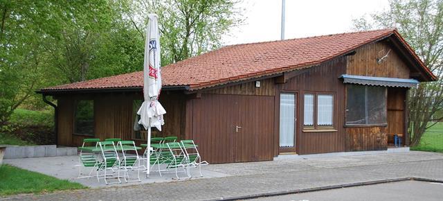 Vereinsheim mit Erweitung der Terrasse