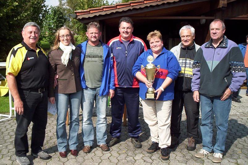 Gemeindemeisterschaft 2008 Sieger Schützenverein Hubertus Eichenried