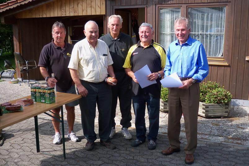 Gemeindemeisterschaft 2012 Sieger VdK Ortsverband Moosinning Neuching