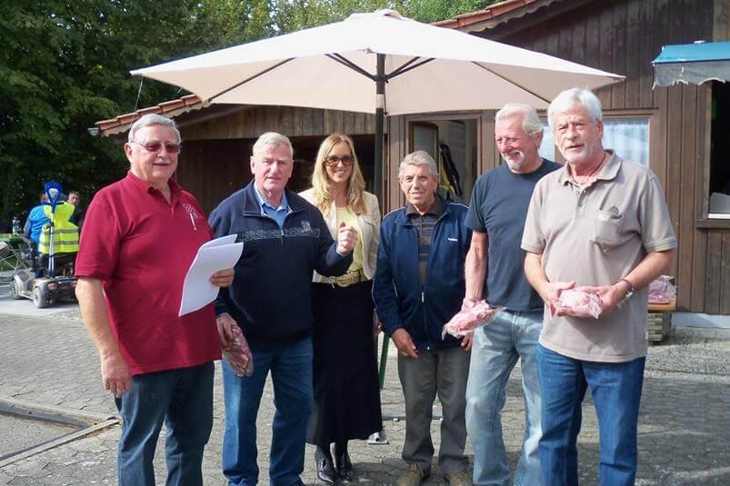 Gemeindemeisterschaft  2013 Sieger Team Schuster Gels