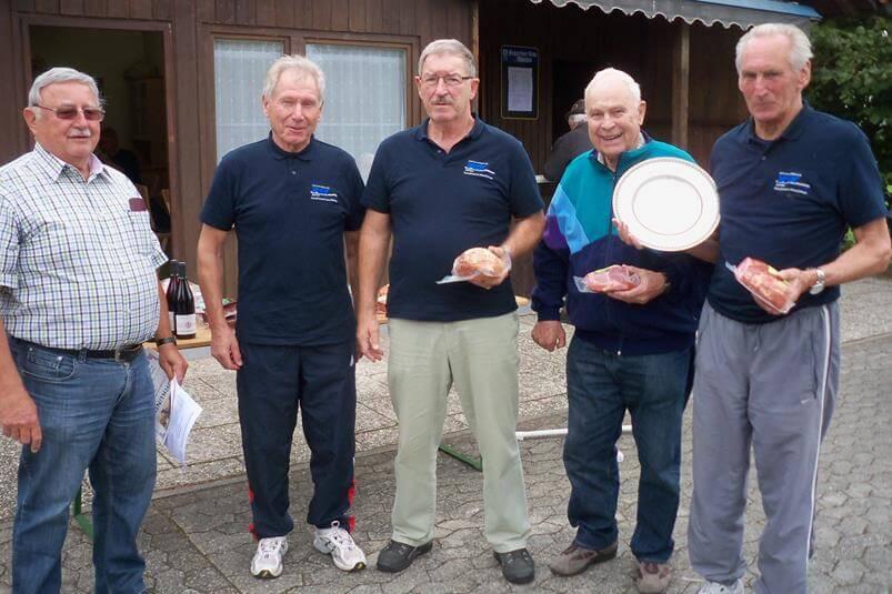 Gemeindemeisterschaft 2015 Sieger VdK Ortsverband Moosinning Neuching