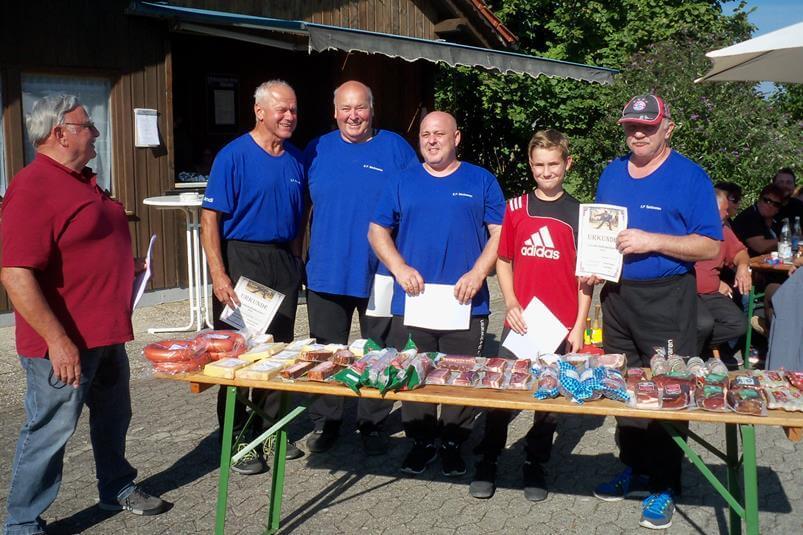 Gemeindemeisterschaft 2016 Sieger E.P. Backwaren