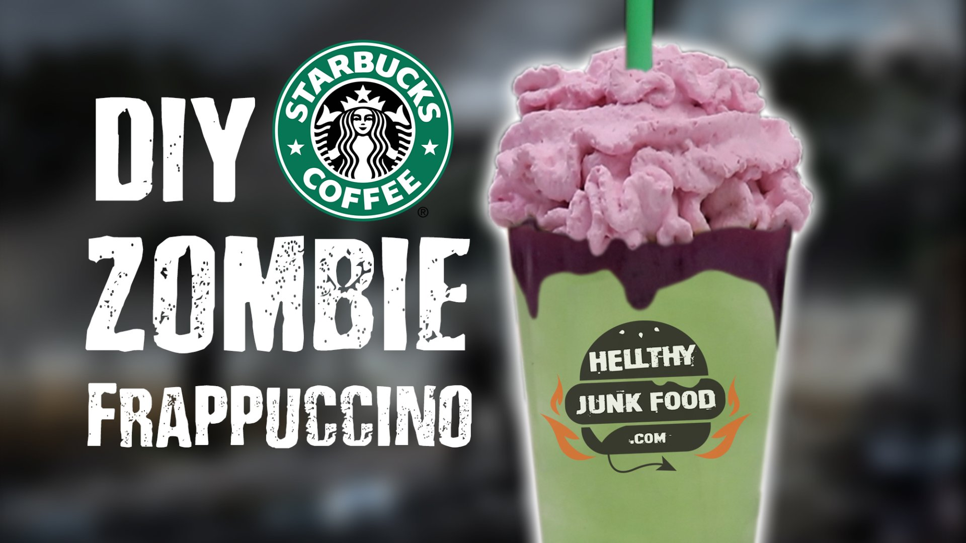 Diy Zombie Frappuccino Leaked Vs Actual