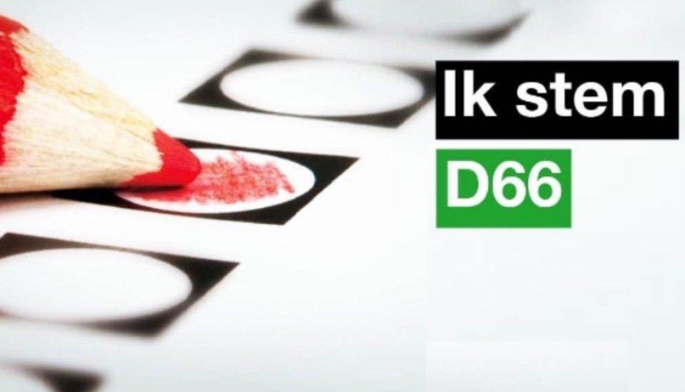 Ik stem D66 Amsterdam