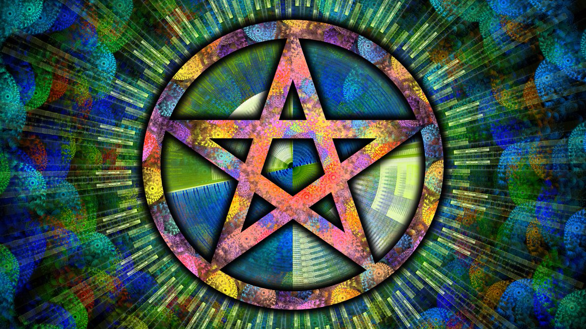 Channelled Message 5 Pointed Star
