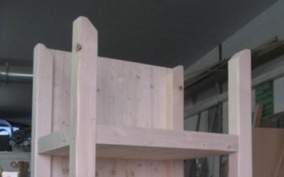 Scaffali in legno su misura