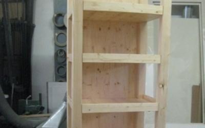 Realizzazione scaffali in legno