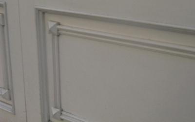 Porte in legno con finiture