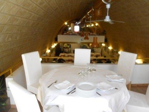 Tavolo della sala superiore