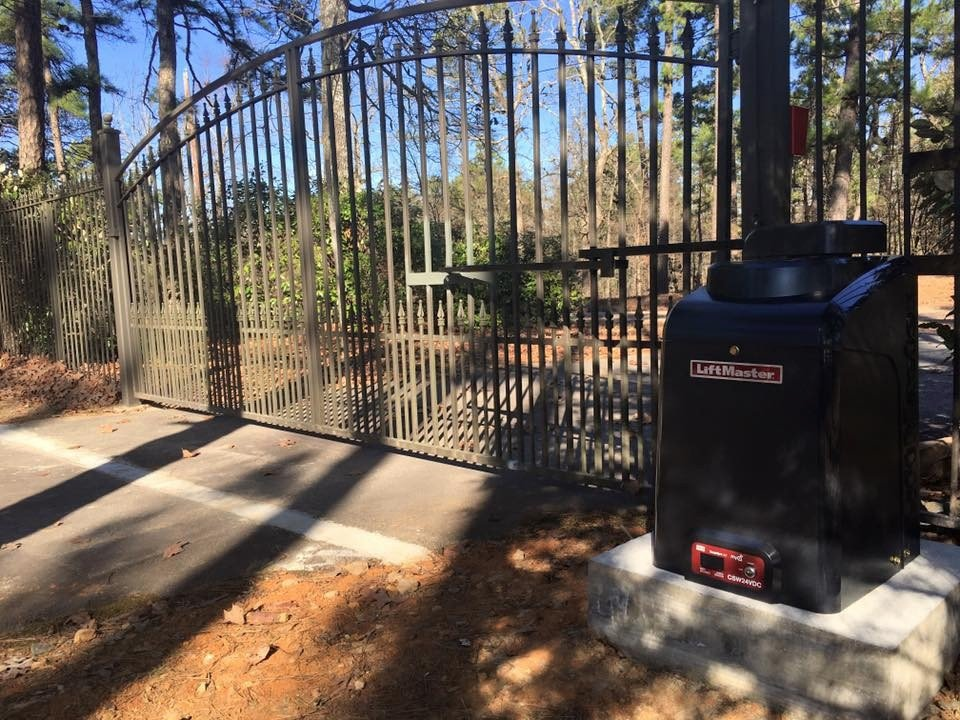 automatic gate, home security, property value, entry system, Little Rock Arkansas