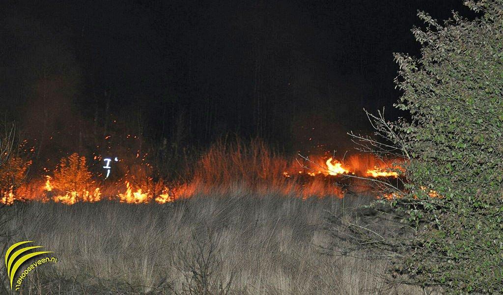 natuurbrand,knooppunt,Hoogeveen