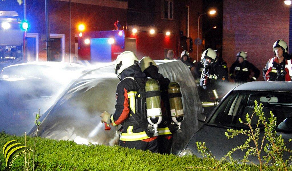 brandstichting,auto,Berghuisstraat,Hoogeveen