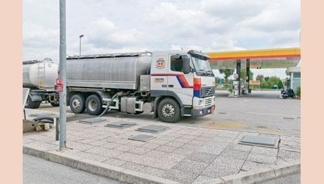 Camion cisterna Gallina Fausto