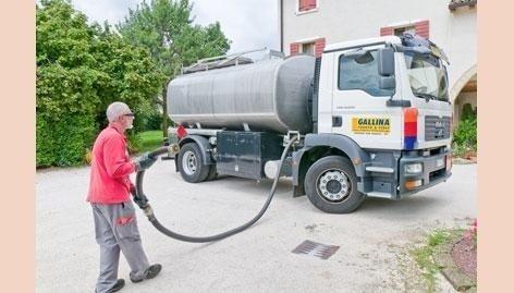 Cisterna gasolio per uso abitazione