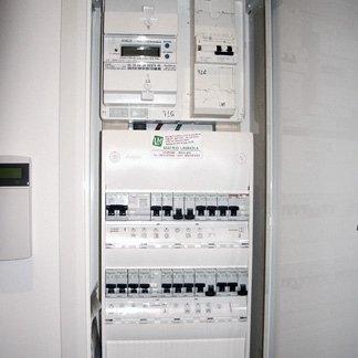 cablaggio elettricità