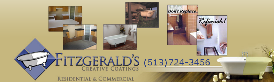 A modern bathroom resurfacing job with a classic look in Cincinnati, OH