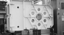 machinery structures, metal parts, components made to design