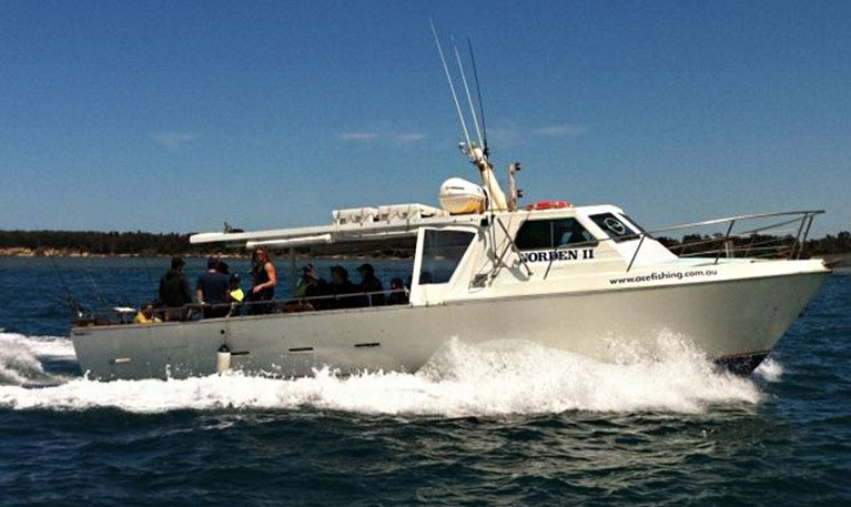 ace fishing charters boat