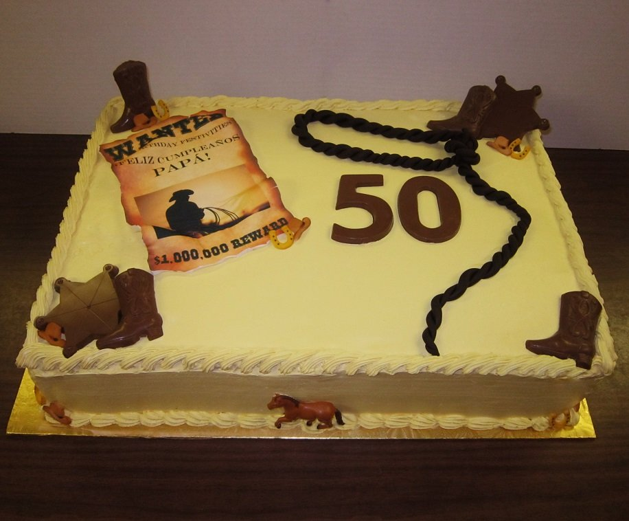 Cowboy Rodeo Birthday Cake Delicious Creations Near