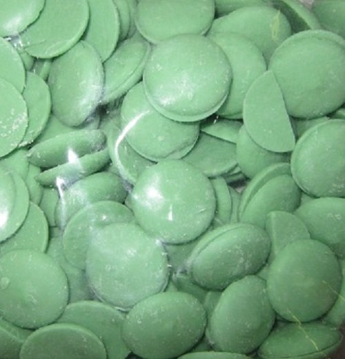 Light Green Melting Chocolate