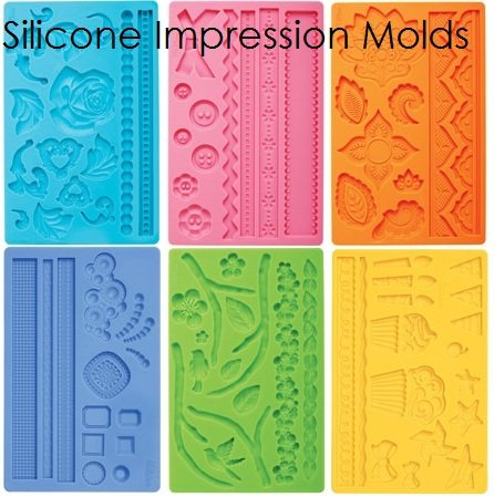 Silicone Impression Molds & Mats | Delicious Creations near Chicago in Hickory Hills, IL
