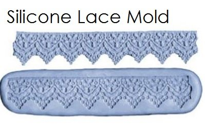 Fondant Silicone Lace Mold | Delicious Creations near Chicago in Hickory Hills, IL