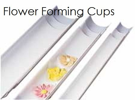 Fondant & Gumpaste Flower Forming Cups  | Delicious Creations near Chicago in Hickory Hills, IL