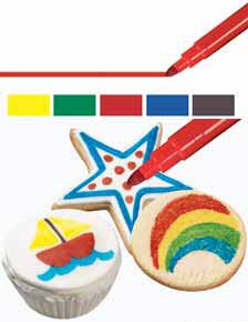 Edible Food Markers   Delicious Creations near Chicago in Hickory Hills, IL