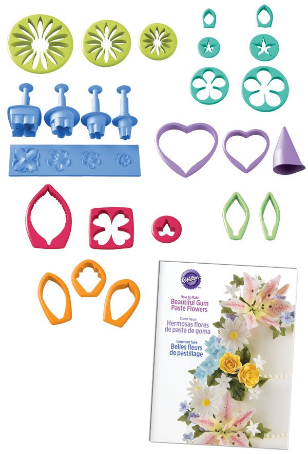 Fondant & Gumpaste Flower Cutter Set | Delicious Creations near Chicago in Hickory Hills, IL