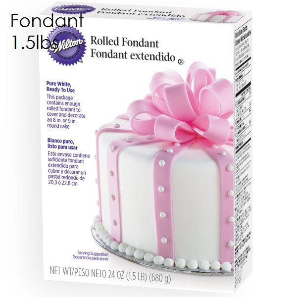 Wilton 2lb White Fondant | Delicious Creations near Chicago in Hickory Hills, IL