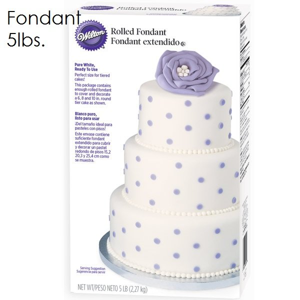 Wilton 5lb White Fondant | Delicious Creations near Chicago in Hickory Hills, IL