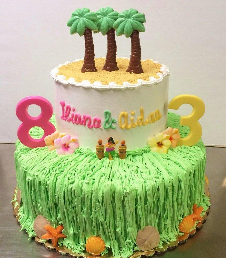 Luau Birthday Cake Birthday Cakes Best Of Luau Birthday Cake