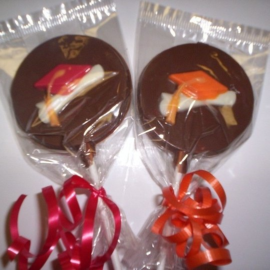 Chocolate Graduation Party Favors | Delicious Creations near Chicago in Hickory Hills, IL