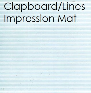 Fondant Clapboard Lines Impression Mat   Delicious Creations near Chicago in Hickory Hills, IL