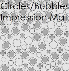 Fondant Circles & Bubbles Impression Mat | Delicious Creations near Chicago in Hickory Hills, IL