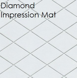 Fondant Diamond Impression Mat | Delicious Creations near Chicago in Hickory Hills, IL